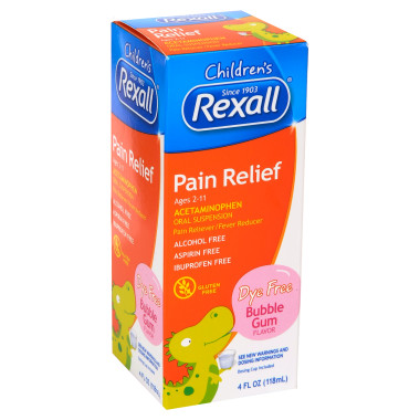 Rexall pain relief acetaminophen