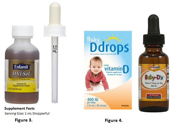 Watch out for dosing errors with liquid vitamin D for infants ...