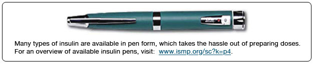 insulin pens available