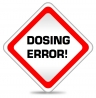 Dosing error with antimalarial medicine