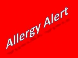 A documented allergy overlooked