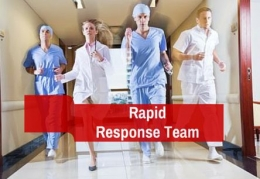 Call a Rapid Response Team to address unresolved safety or health concerns while in the hospital