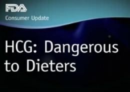 A Reminder from FDA: HCG Diet Products Are Illegal